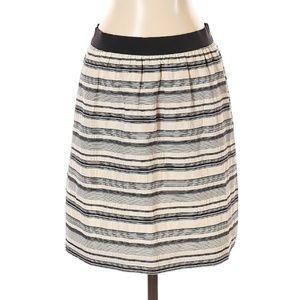 NWOT Ann Taylor Striped Skirt